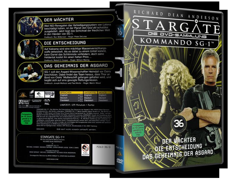 Stargate - DVD-Magazin-Sammlung - 36