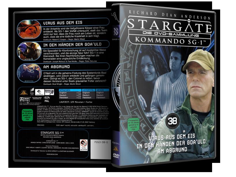 Stargate - DVD-Magazin-Sammlung - 38