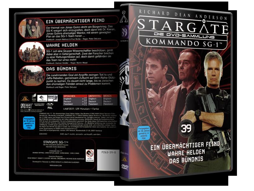 Stargate - DVD-Magazin-Sammlung - 39
