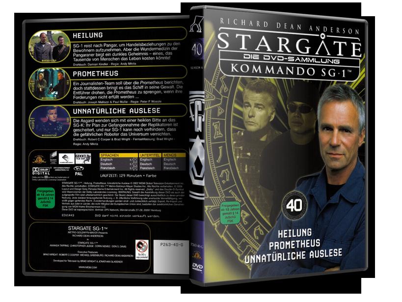 Stargate - DVD-Magazin-Sammlung - 40