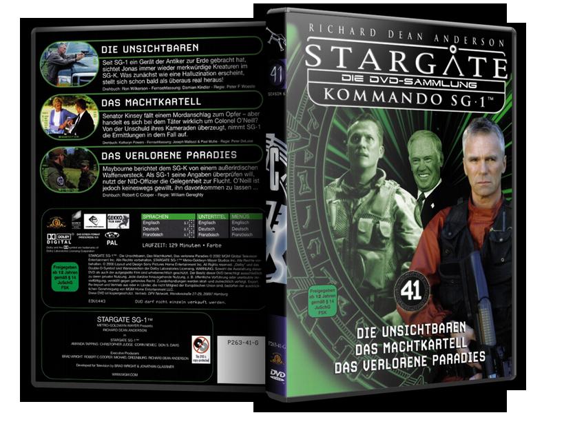 Stargate - DVD-Magazin-Sammlung - 41