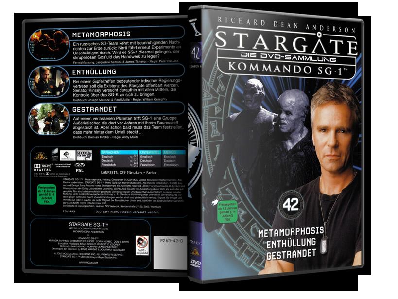 Stargate - DVD-Magazin-Sammlung - 42