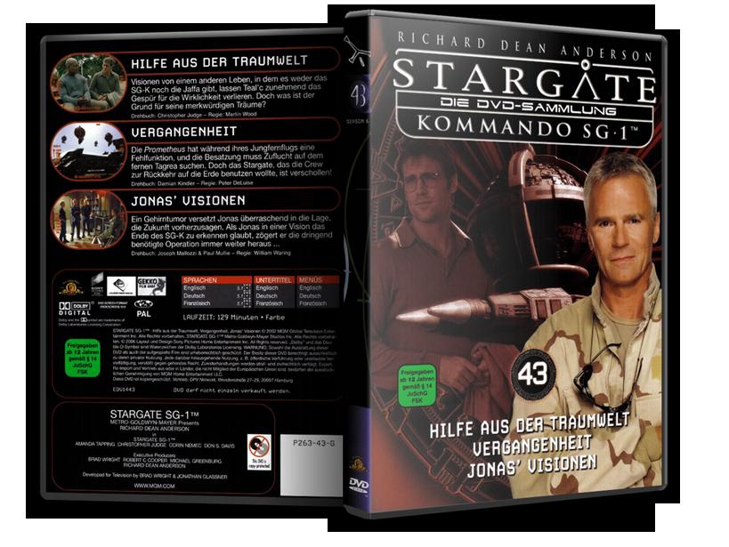 Stargate - DVD-Magazin-Sammlung - 43