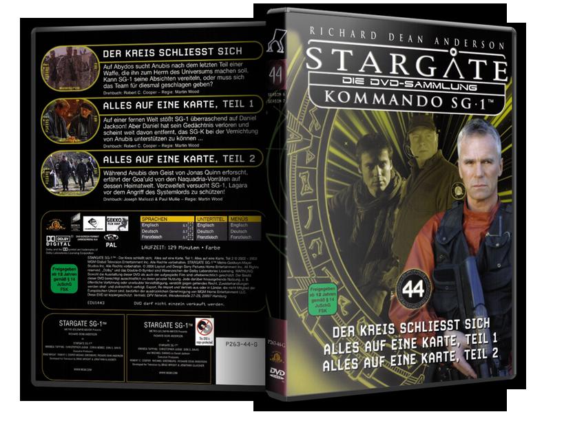 Stargate - DVD-Magazin-Sammlung - 44
