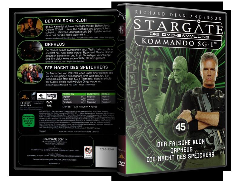 Stargate - DVD-Magazin-Sammlung - 45