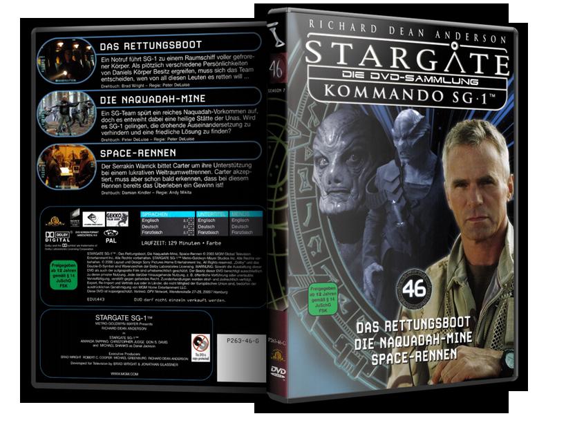 Stargate - DVD-Magazin-Sammlung - 46