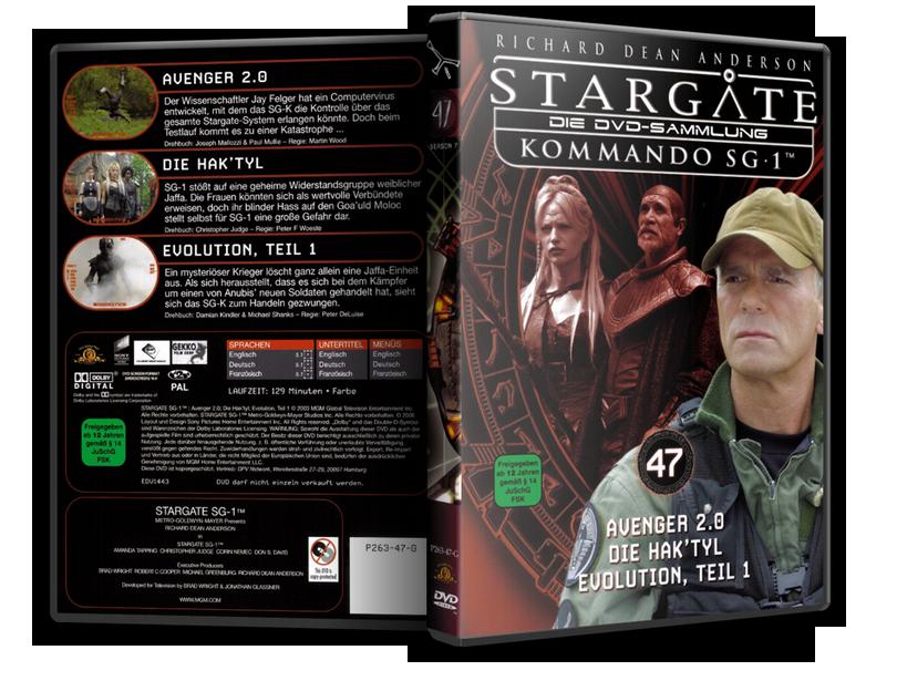 Stargate - DVD-Magazin-Sammlung - 47
