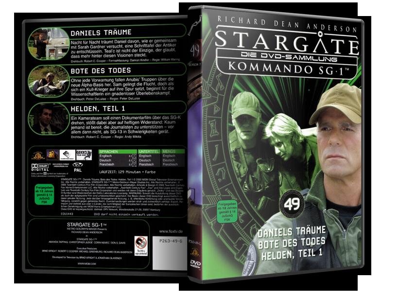 Stargate - DVD-Magazin-Sammlung - 49