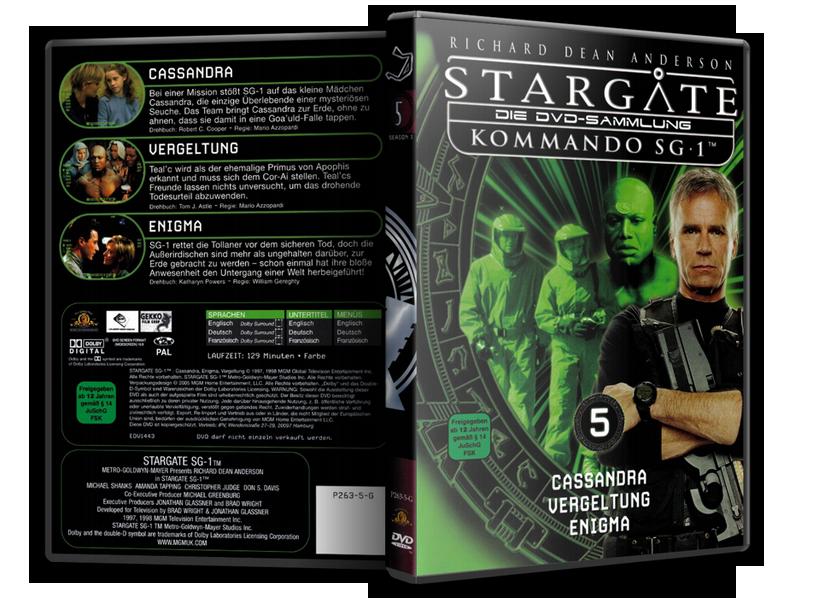 Stargate - DVD-Magazin-Sammlung - 5