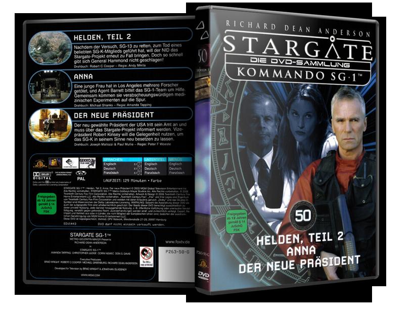 Stargate - DVD-Magazin-Sammlung - 50