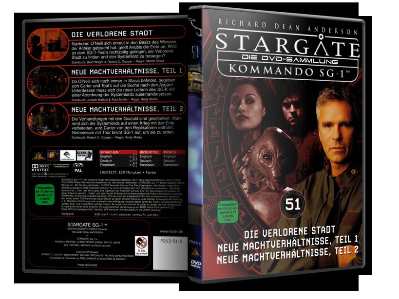 Stargate - DVD-Magazin-Sammlung - 51