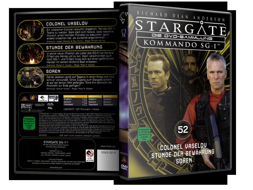 Stargate - DVD-Magazin-Sammlung - 52