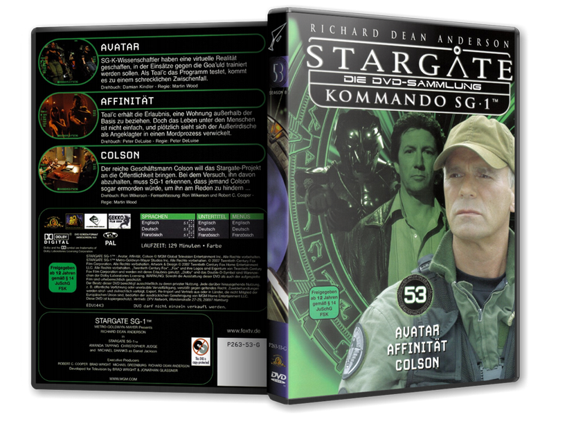 Stargate - DVD-Magazin-Sammlung - 53