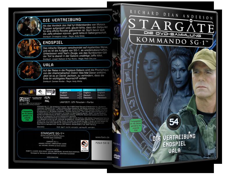 Stargate - DVD-Magazin-Sammlung - 54