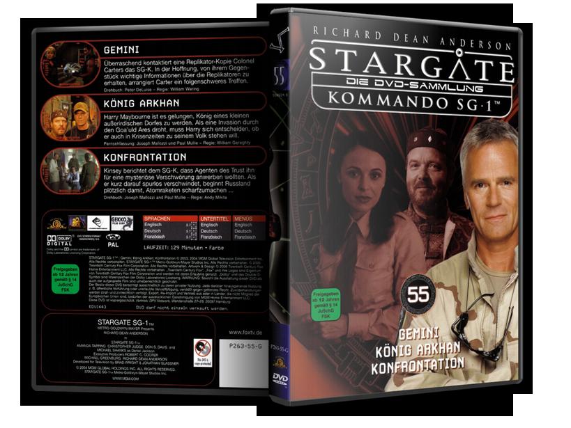 Stargate - DVD-Magazin-Sammlung - 55