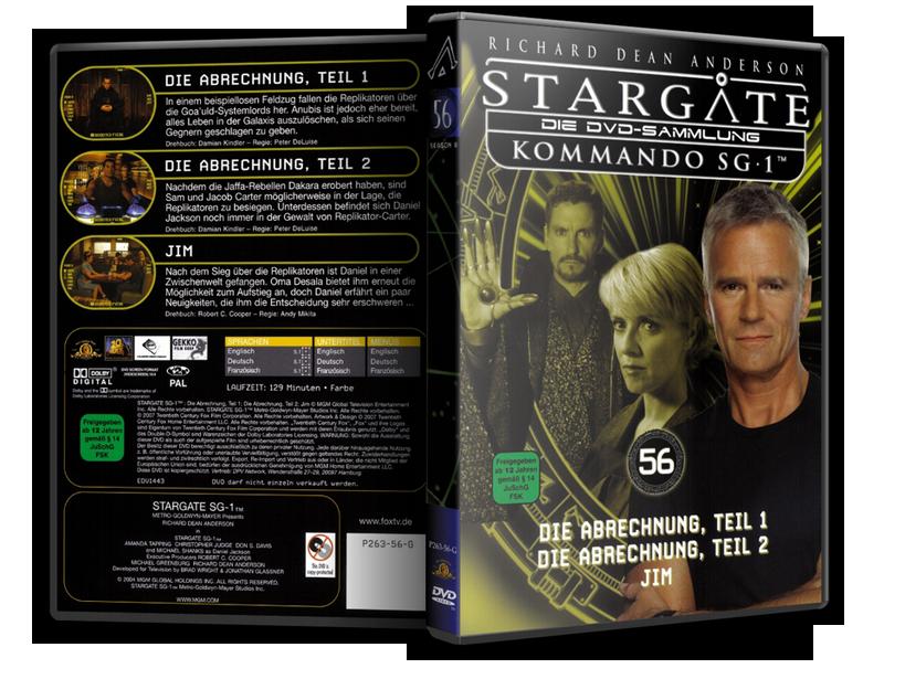Stargate - DVD-Magazin-Sammlung - 56