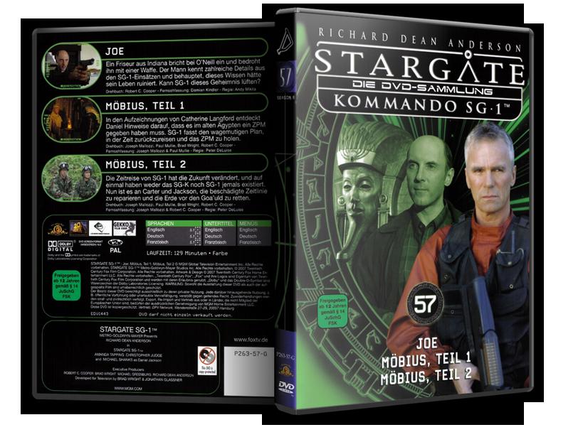 Stargate - DVD-Magazin-Sammlung - 57