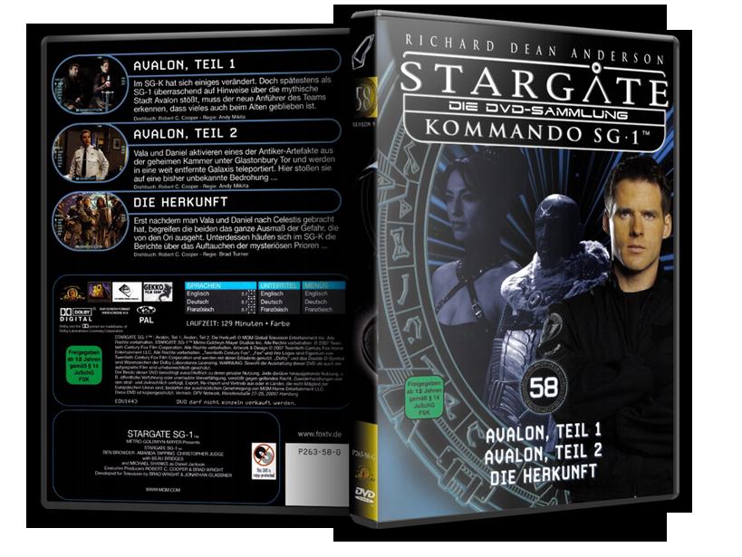 Stargate - DVD-Magazin-Sammlung - 58