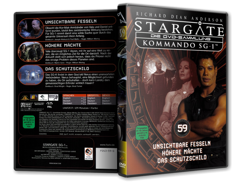 Stargate - DVD-Magazin-Sammlung - 59