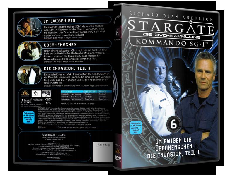 Stargate - DVD-Magazin-Sammlung - 6