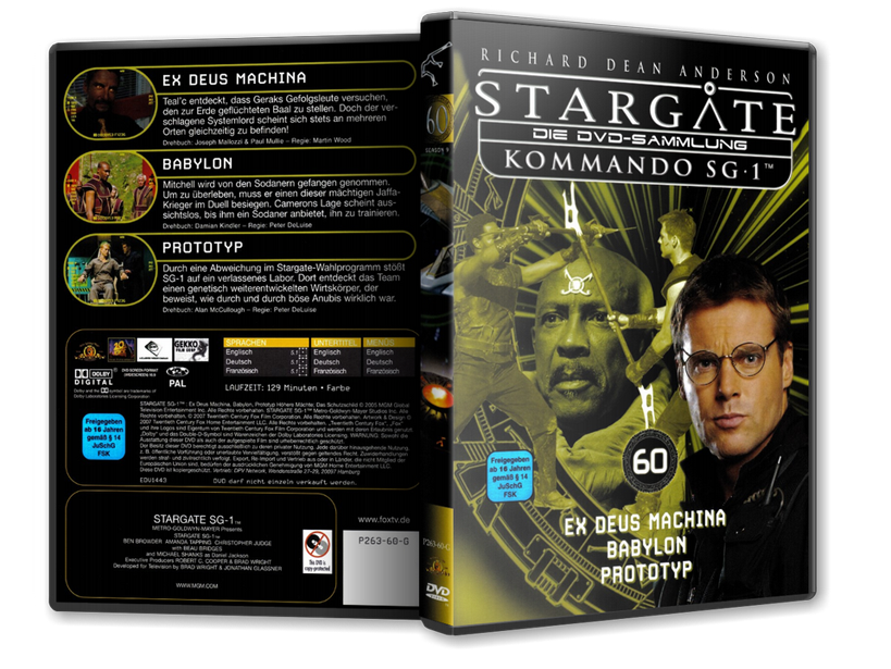 Stargate - DVD-Magazin-Sammlung - 60