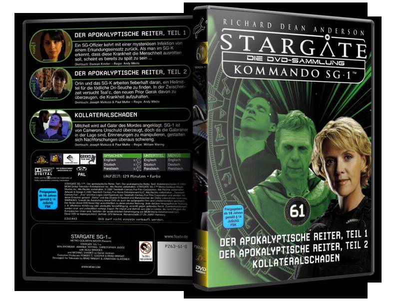 Stargate - DVD-Magazin-Sammlung - 61