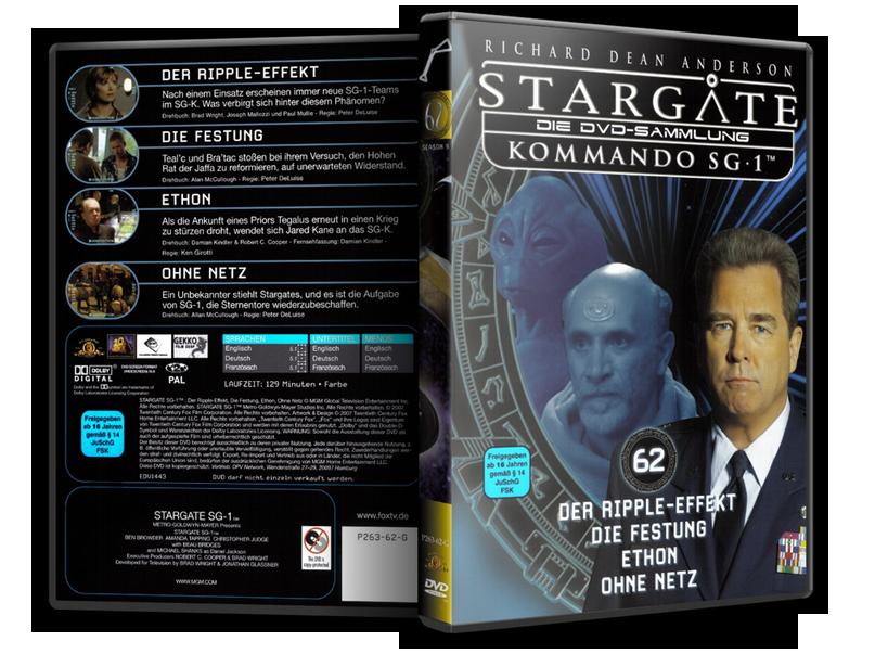 Stargate - DVD-Magazin-Sammlung - 62