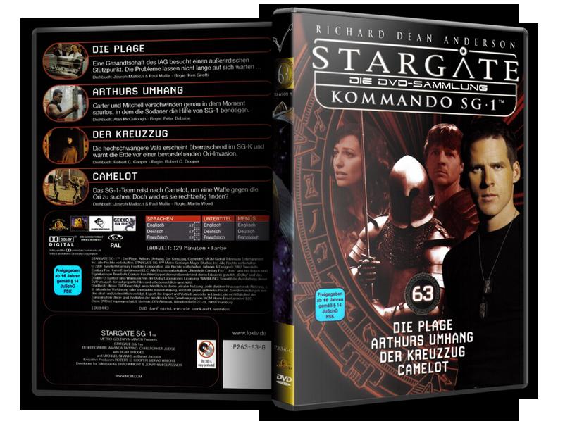 Stargate - DVD-Magazin-Sammlung - 63