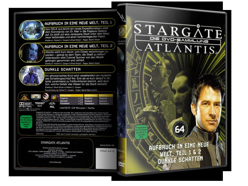 Stargate - DVD-Magazin-Sammlung - 64
