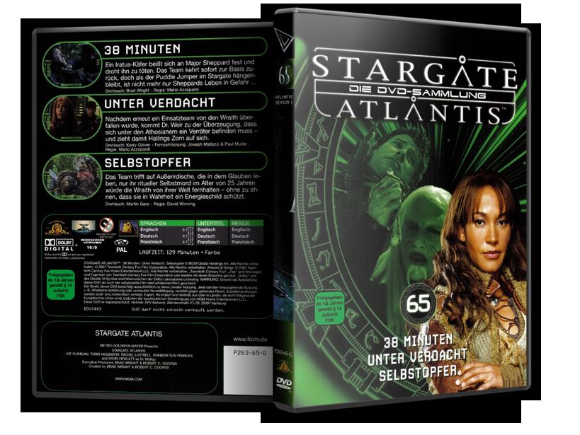 Stargate - DVD-Magazin-Sammlung - 65