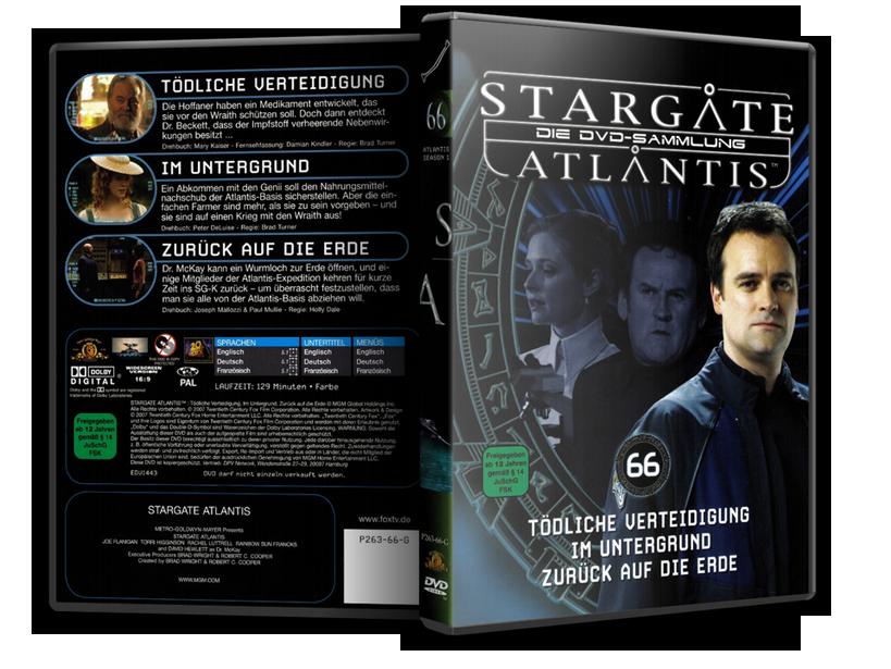 Stargate - DVD-Magazin-Sammlung - 66