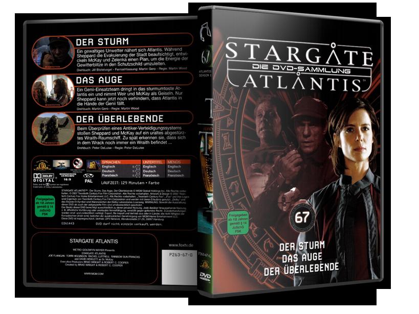 Stargate - DVD-Magazin-Sammlung - 67