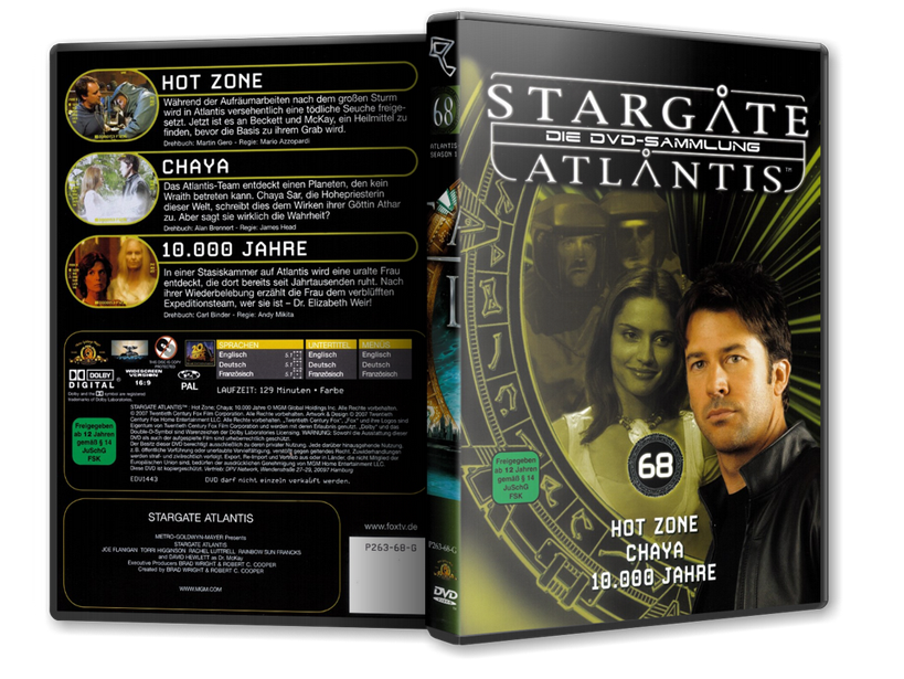 Stargate - DVD-Magazin-Sammlung - 68