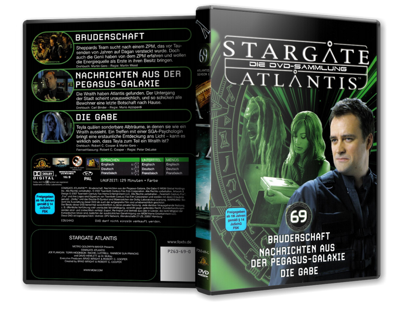 Stargate - DVD-Magazin-Sammlung - 69