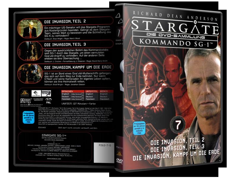 Stargate - DVD-Magazin-Sammlung - 7