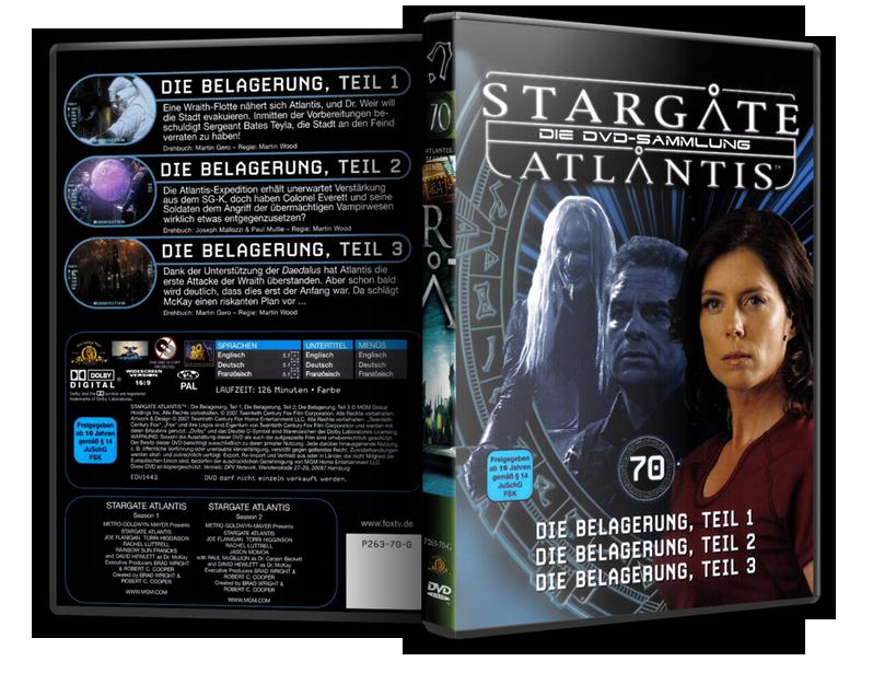 Stargate - DVD-Magazin-Sammlung - 70