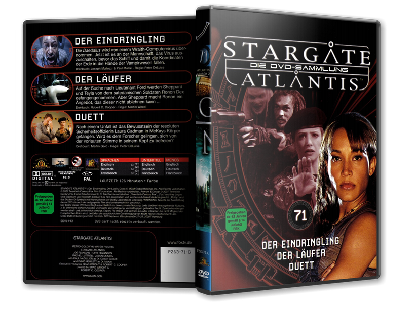 Stargate - DVD-Magazin-Sammlung - 71