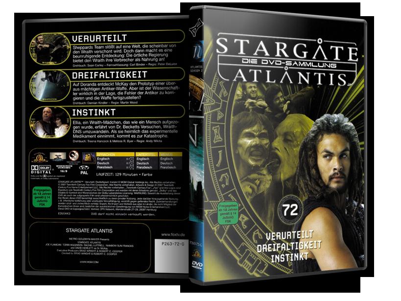 Stargate - DVD-Magazin-Sammlung - 72