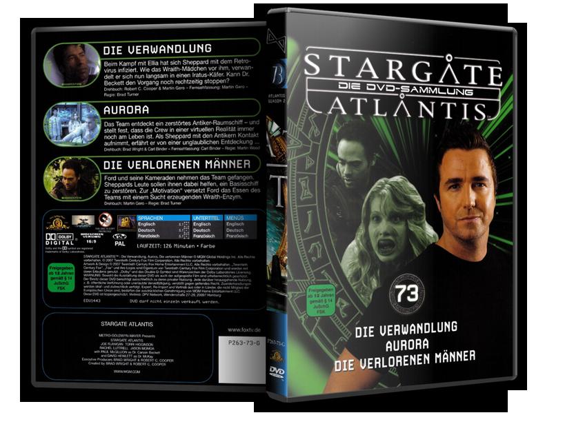 Stargate - DVD-Magazin-Sammlung - 73