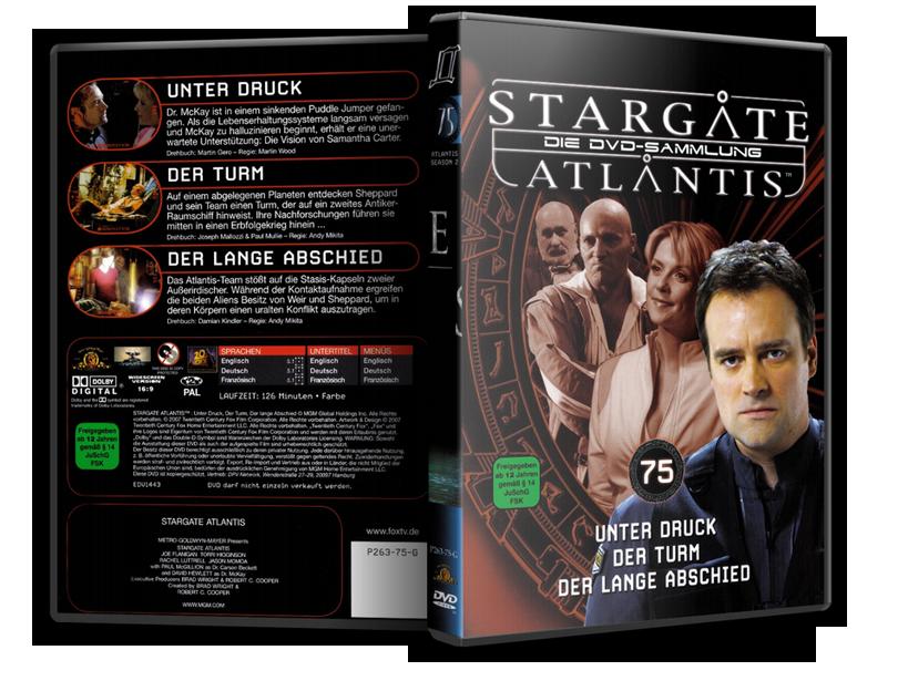 Stargate - DVD-Magazin-Sammlung - 75