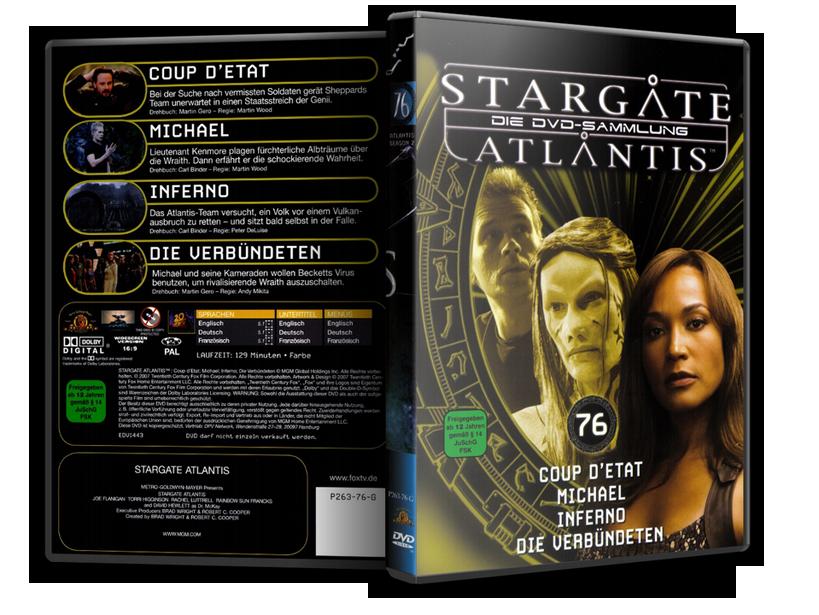 Stargate - DVD-Magazin-Sammlung - 76
