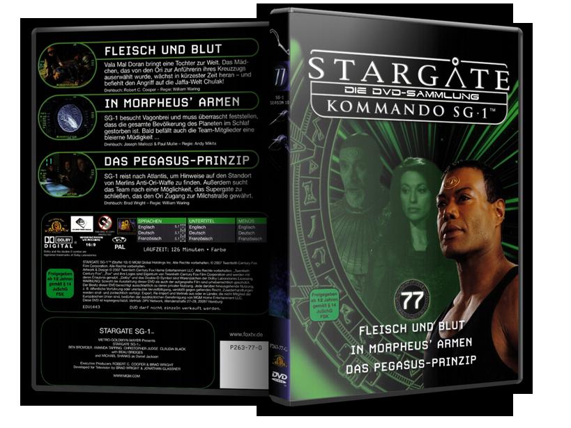 Stargate - DVD-Magazin-Sammlung - 77