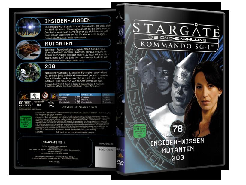 Stargate - DVD-Magazin-Sammlung - 78