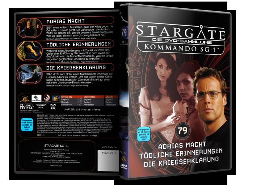Stargate - DVD-Magazin-Sammlung - 79