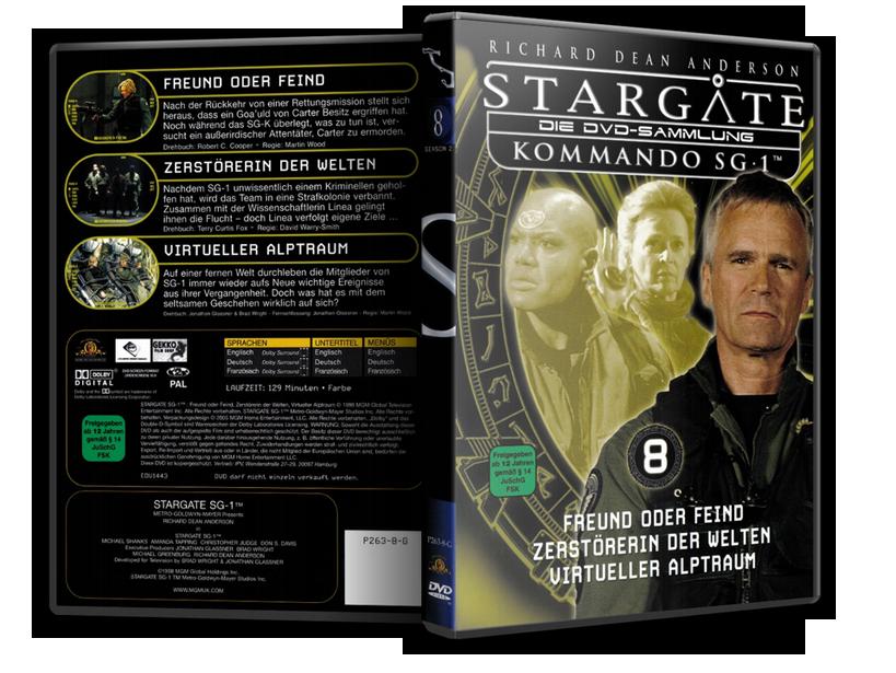 Stargate - DVD-Magazin-Sammlung - 8