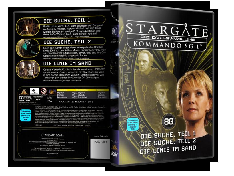 Stargate - DVD-Magazin-Sammlung - 80