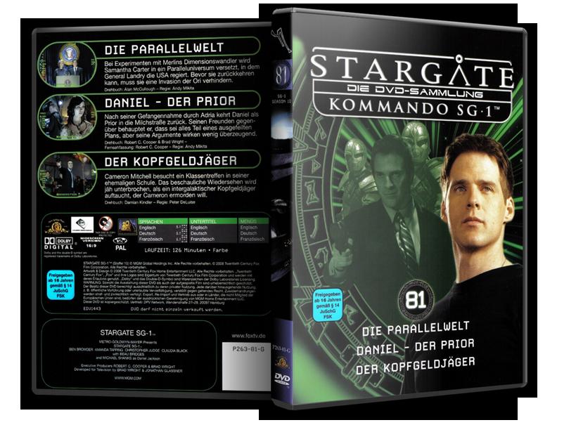 Stargate - DVD-Magazin-Sammlung - 81
