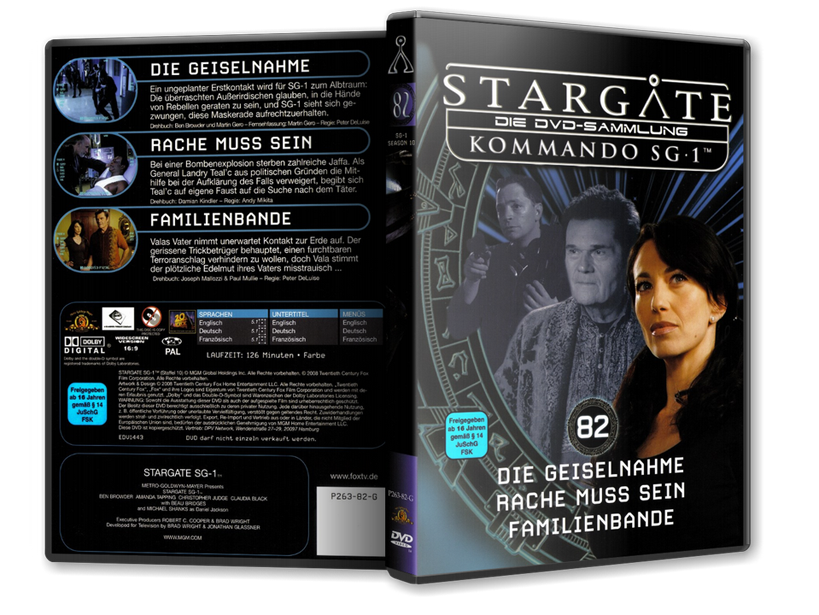 Stargate - DVD-Magazin-Sammlung - 82