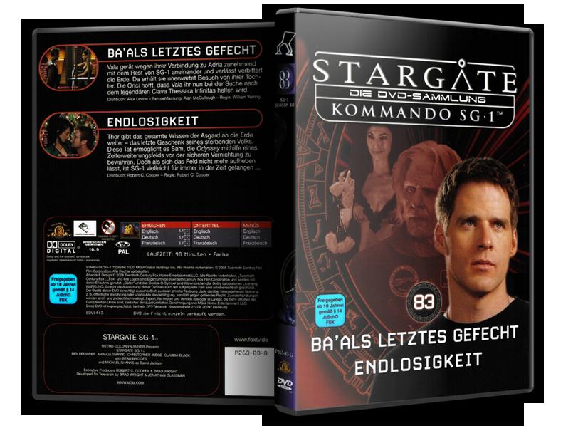 Stargate - DVD-Magazin-Sammlung - 83