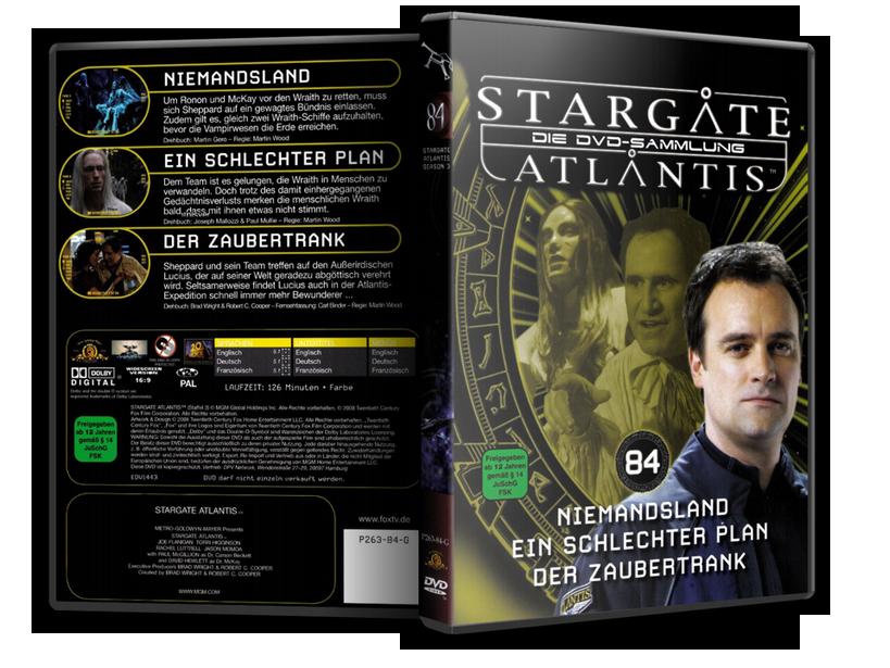 Stargate - DVD-Magazin-Sammlung - 84
